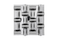 Arete Wall Tile / Stainless Steel