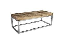 Onyx Coffee Table / Stainless Steel