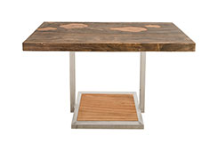 Scaling Dining Table / Grey Stone