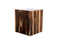 Rosewood Strip Stool / Square