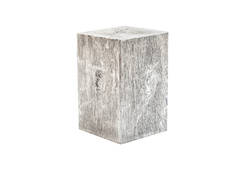 Old Lumber Stool / Silver Leaf