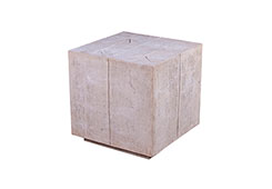 Old Lumber Side Table / Roman Stone
