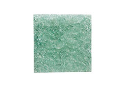 Crackled Glass Wall Tile / Clear Green, SM