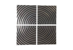 Concentric Wall Tile / Set Of 4