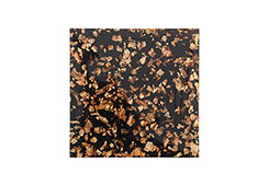 Captured Gold Flake Wall Tile / Black