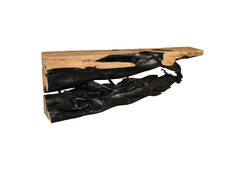 Tamarind Wood Console Table / Burnt