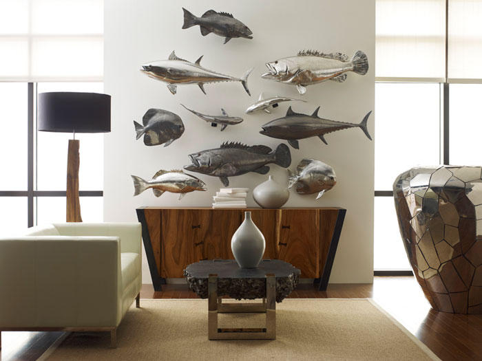 Coral Trout Fish Polished Aluminum Ph64544