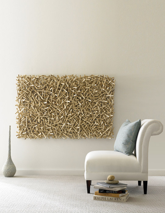 Stick wall art th56930 for Wanddeko outdoor