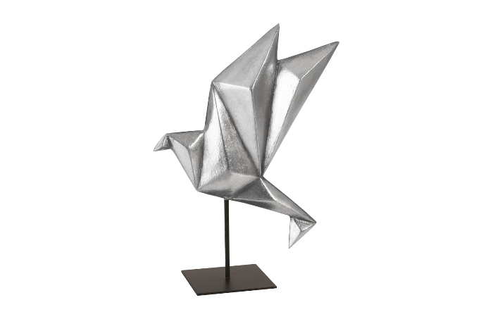 Picture Of Origami Bird Paper Isolated | 453x700
