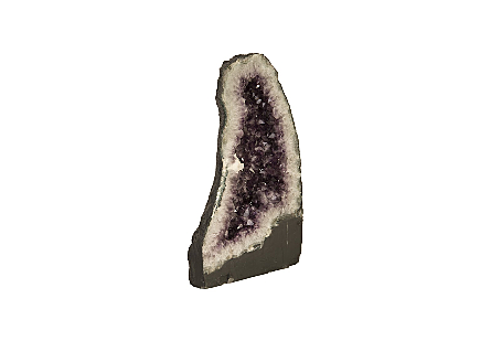 Amethyst Sculpture LG, Assorted