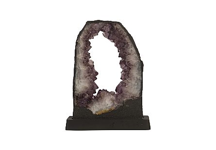 Amethyst Sculpture on Base Assorted