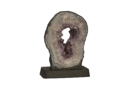 Amethyst Sculpture on Base MD, Assorted