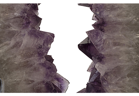 Amethyst Sculpture on Stand