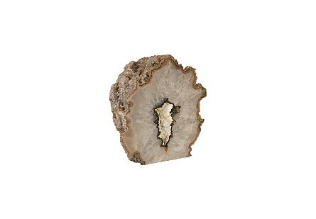 Agate Geode Sculpture