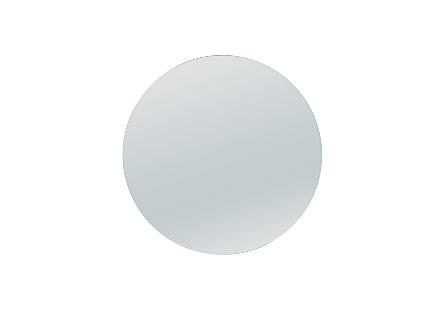 Round Glass Top