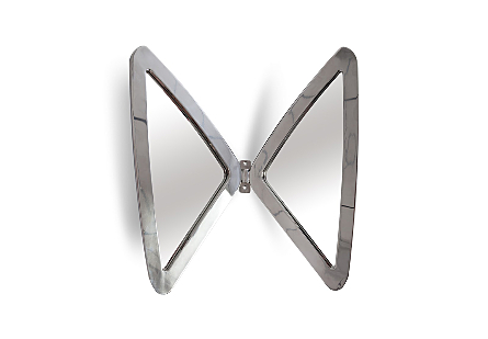 Butterfly Mirror Stainless Steel