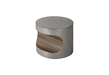 Bite End Table Plated Black Nickel