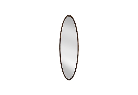 Elliptical Oval Mirror Large, Posh