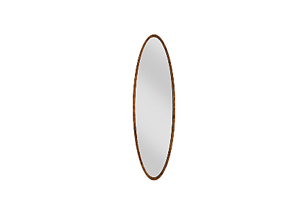 Elliptical Oval Mirror Large, Von Braun