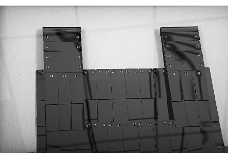 Armor Vest Illuminated Wall Art Plated Black Nickel, LED, Shadowbox