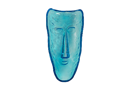 Glass Face Wall Tile Blue