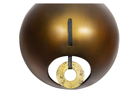 Spheres Wall Tile Bronze