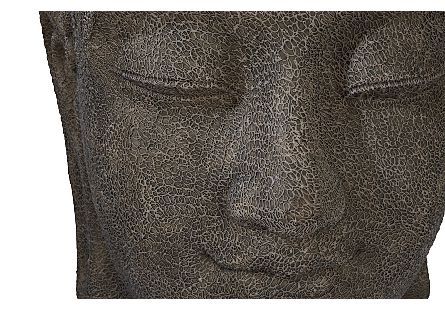 Buddha Head Illuminated Sculpture