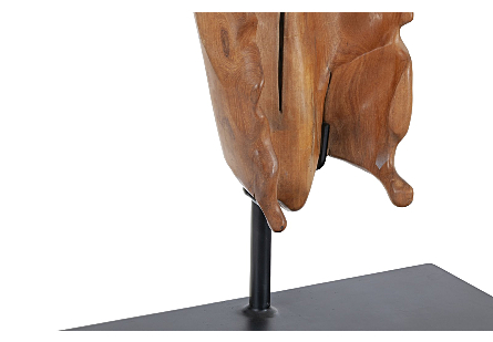 Mahogany Wood Sculpture