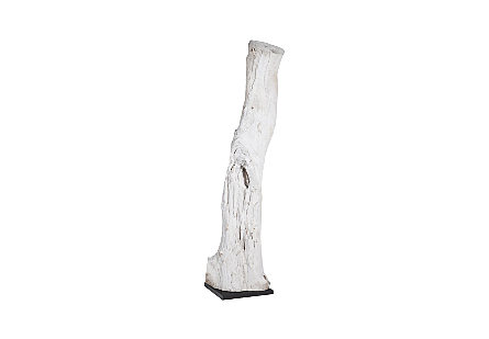 Eroded Wood Column on Stand