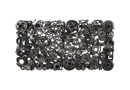 Christian Wall Décor Black/Silver, Aluminum