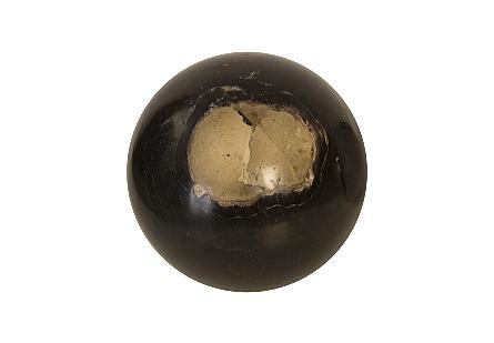 Petrified Wood Ball, Set of 3, Assorted