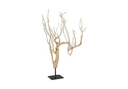 Tea Tree Sculpture Assorted Sizes
