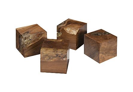 Glitz Tabletop Cube Set of 4
