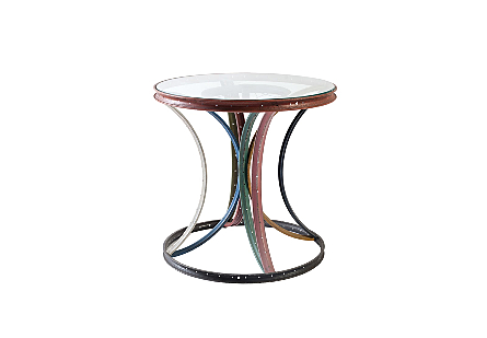Bicycle Rim Side Table Assorted