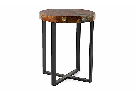 Glitz Side Table Round