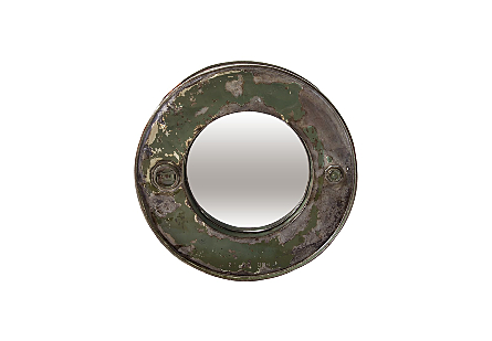 Oil Drum Mirror Assorted Colors and Styles