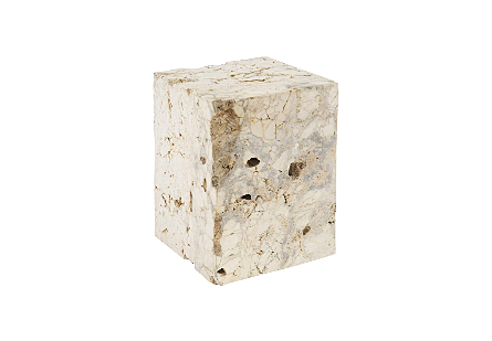 Cheese Stone Stool Assorted, LG