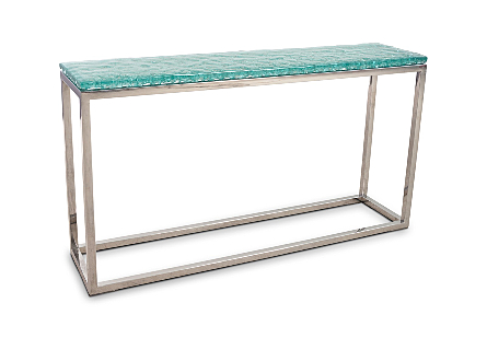 Bubble Glass Console Table
