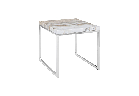 Onyx Accent Table SS Base