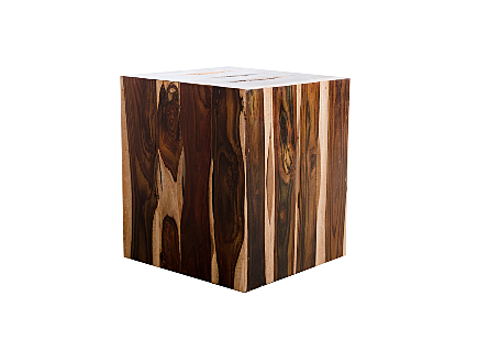 Rosewood Strip Stool Square