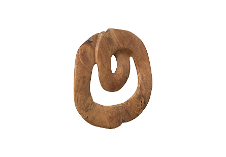 Swirl Wall Tile Teak Wood, Assorted