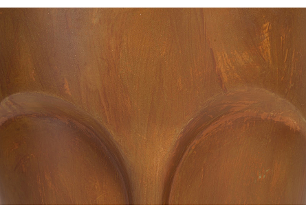 Face Tower Pedestal Copper Finish