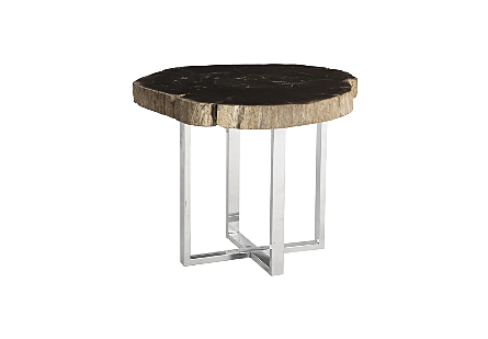 Petrified Wood Coffee Table Assorted Styles, Sizes and Colors