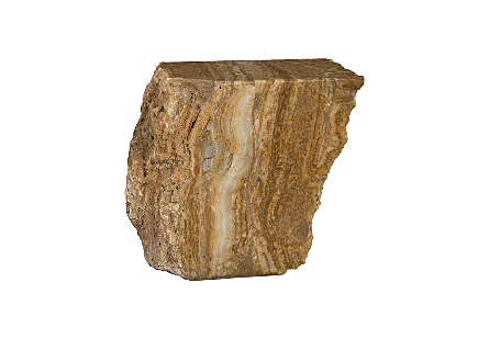 Onyx Stool Rough Edges