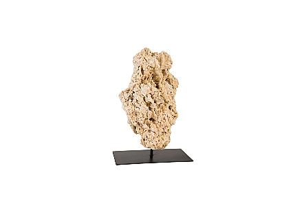 Stalagmite Sculpture Metal Stand