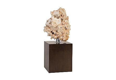 Stalagmite Sculpture SM, White