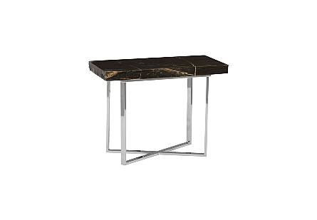 Petrified Wood Side Table Small