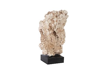 Stalagmite Sculpture on Wood Stand