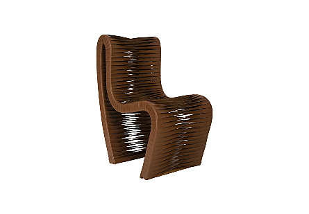 Seatbelt Chair Brown