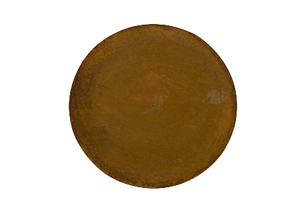 Brown Copper Side Table